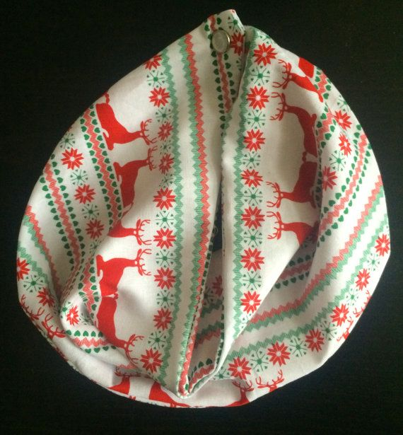 Hey, I found this really awesome Etsy listing at https://www.etsy.com/listing/210584591/baby-infinity-scarf-bib-christmas