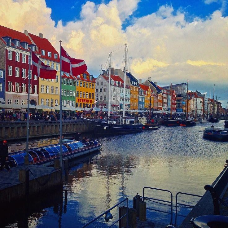"""Nyhavn (or """"New Harbor"""") is easily the most iconic site in our HQ city  #nyhavn #travel #copenhagen #copenhagenlife #cphftw #findroommate"""