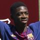 """Ousmane Dembele insisted he is not feeling under pressure to perform despite joining Barcelona as a club record signing and the second most expensive footballer of all-time.  The 20-year-old winger signed from Borussia Dortmund for a fee which could rise to 147 million was presented to over 17000 fans at the Nou Camp on Monday.  """"(I feel) no pressure no nerves. It's the transfer market going a bit crazy. But I'm here to do my work well on the pitch and help the team"""" Dembele told reporters…"""