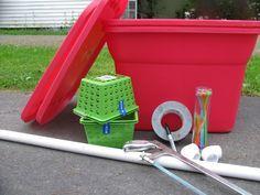 Tutorial: Homemade Self Watering Planter