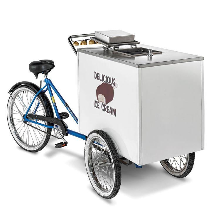 The Genuine Good Humor Ice Cream Cart - Hammacher Schlemmer