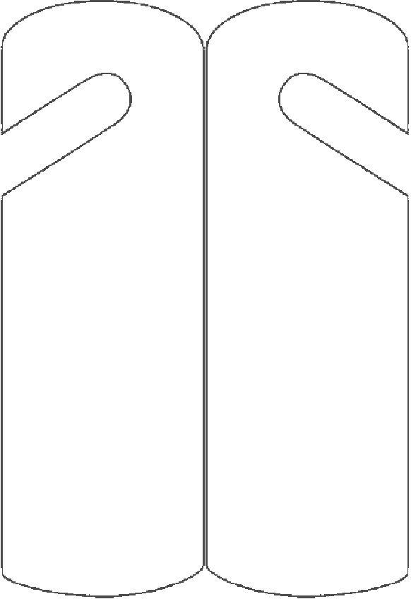 Deurhanger (blanco)
