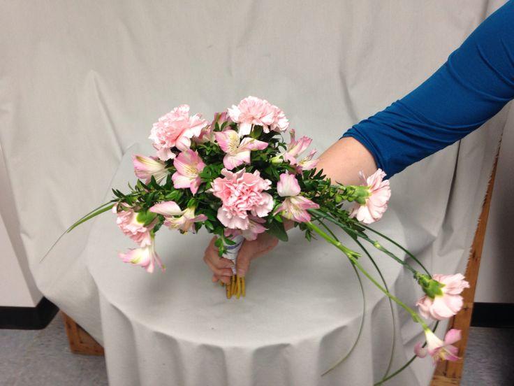 49 best burgundy peach cream images on pinterest for Crescent bouquet