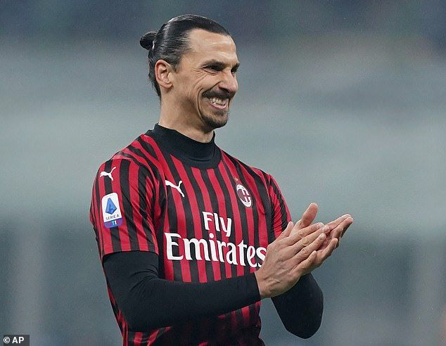 Zlatan Ibrahimovic Left Frustrated After Ac Milan Threw Away A Two Goal Lead To Lose Derby To Inter In 2020