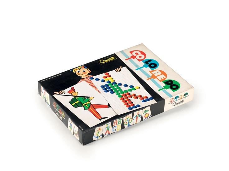Prime scatole dei #chiodini #Quercetti (anni '50)