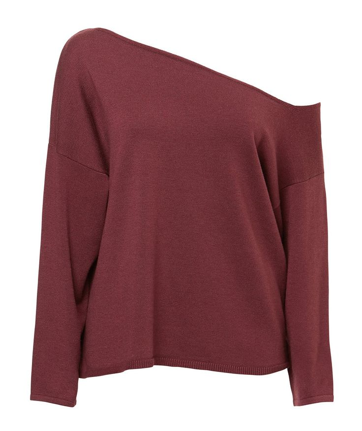 CUT OUT SLOUCH PULLOVER