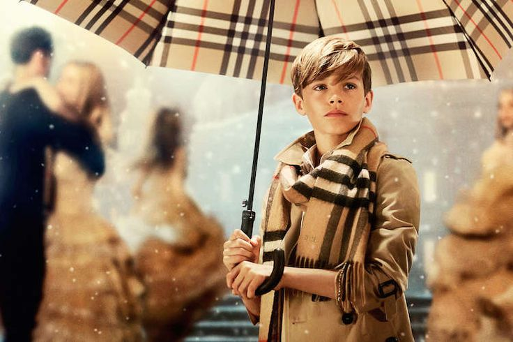 Romeo Beckham Shows Off His Dance Moves In The Latest Burberry Holiday Campaign