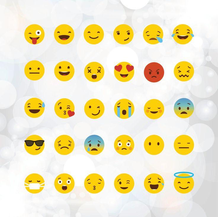 Emoji SVG files Yellow smiley vector files emoji by