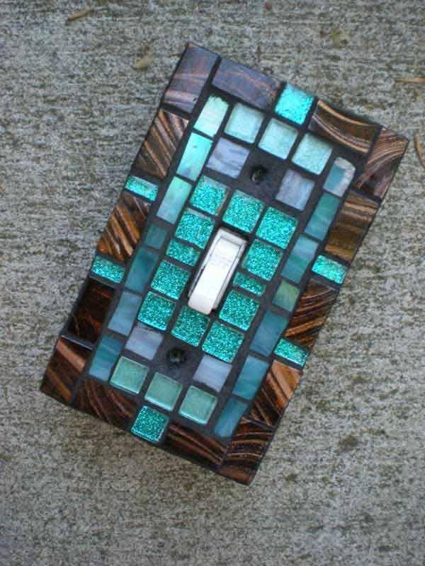 21 Creative DIY Ideas To Decorate Light Switch Plates