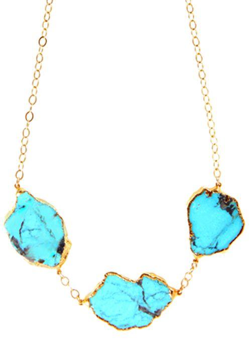 Turquoise Statement Necklace | Heather Gardner
