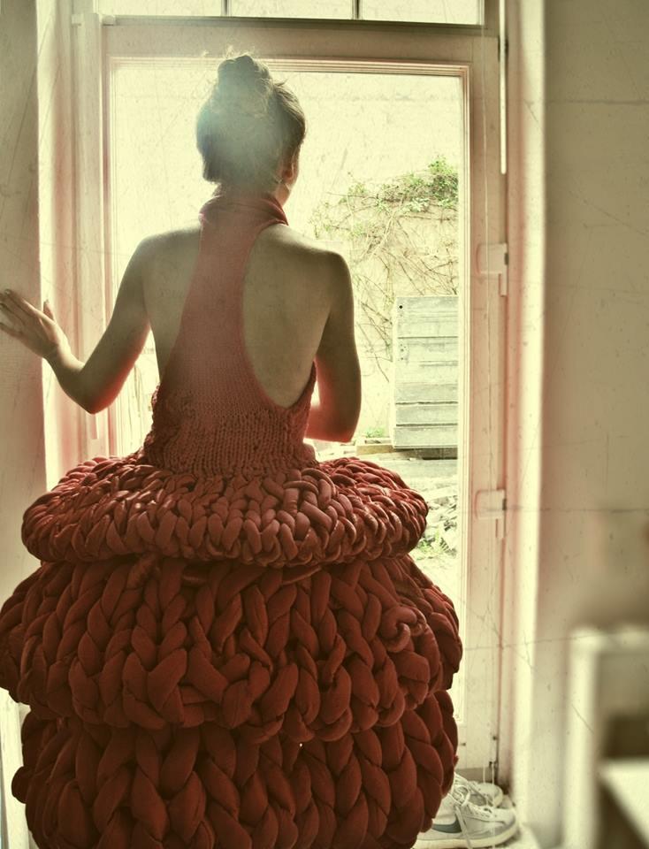 Polynoir.  She looks like a giant toilet scrubber!  LOL LOL!