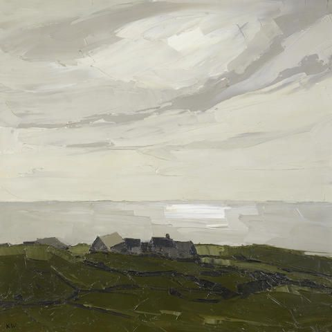 Rhos Cryman, Sir Kyffin Williams, oil on canvas