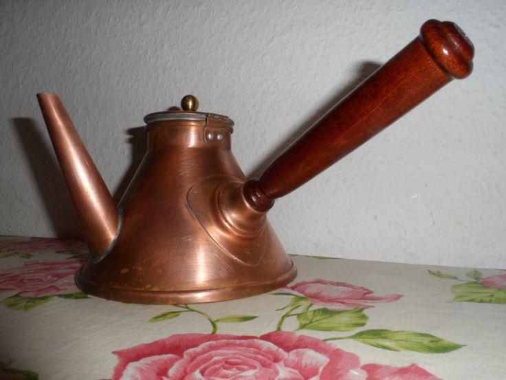 Kaffeekocher Mokkakanne Kupfer, Teekanne made in France | eBay
