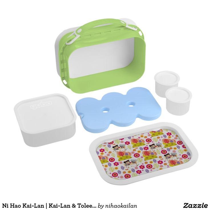 Ni Hao Kai-Lan | Kai-Lan & Tolee Pattern. Producto disponible en tienda Zazzle. Product available in Zazzle store. Regalos, Gifts. #lonchera #LunchBox