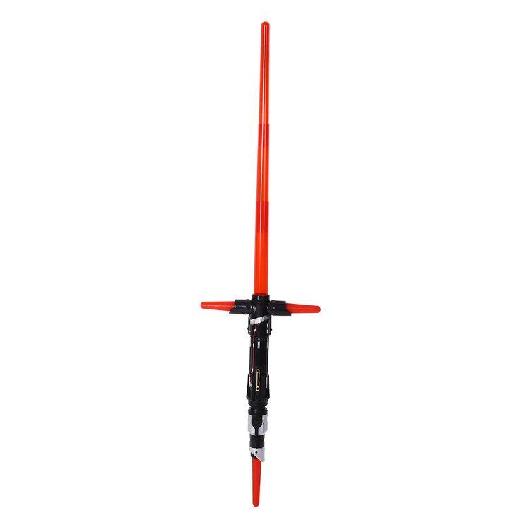 2016 New Fashion Magic Star Wars The Force Awakens Kylo Ren Lightsaber LED Light Sound Sword Toy For Kid
