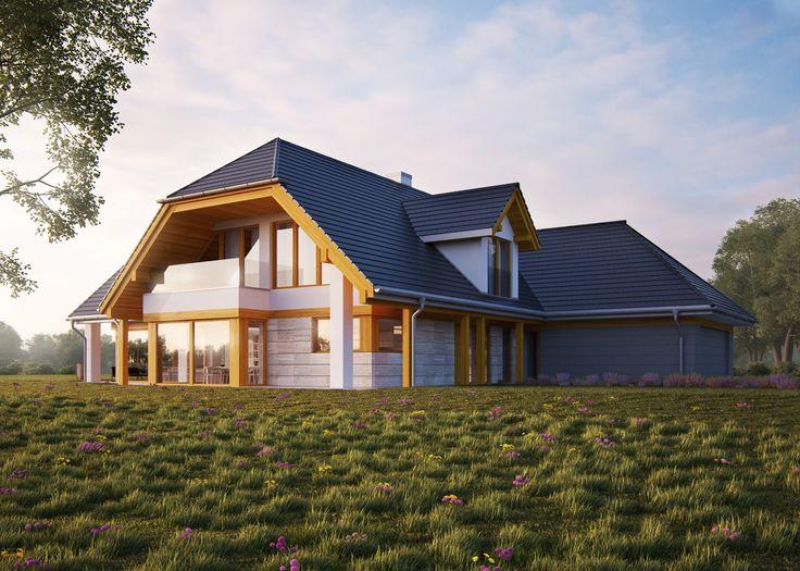 LK&1261 #lk-projekt #lkprojekt #lkprojekct #projektdomu #projekty domow #domjednorodzinny #plaskidach #house #project #beautifulhouse #flatroof #homesweethome #design #architecture #polisharchitecture