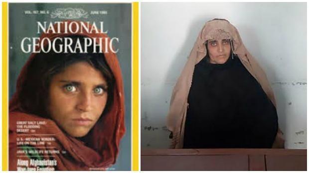 Detienen a la niña afgana retratada en el National Geographic por tener documentos falsos en Pakistán