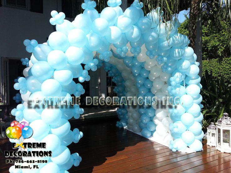 Frozen Balloon Tunnel Balloon Arch Frozen Party
