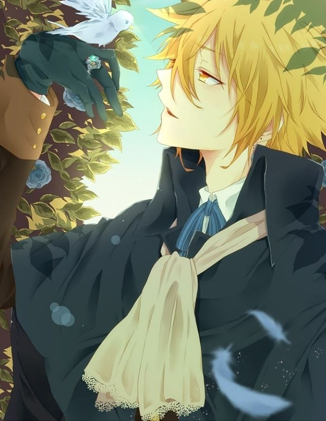 Anime Prince Charming? Maybe? I don't know what anime this is...