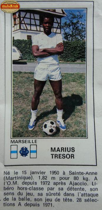 Football ... Marius TRESOR