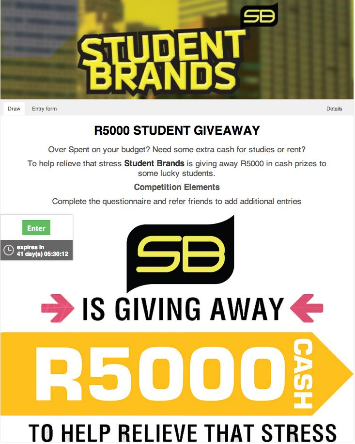 #Competition #R5000 #Cash #Giveaway #Viral #Campaign #youth