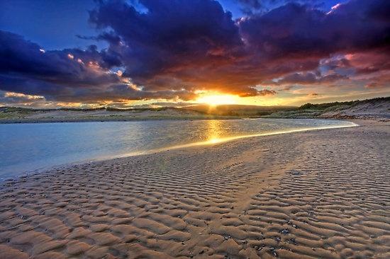 nova scotia inverness sunrise