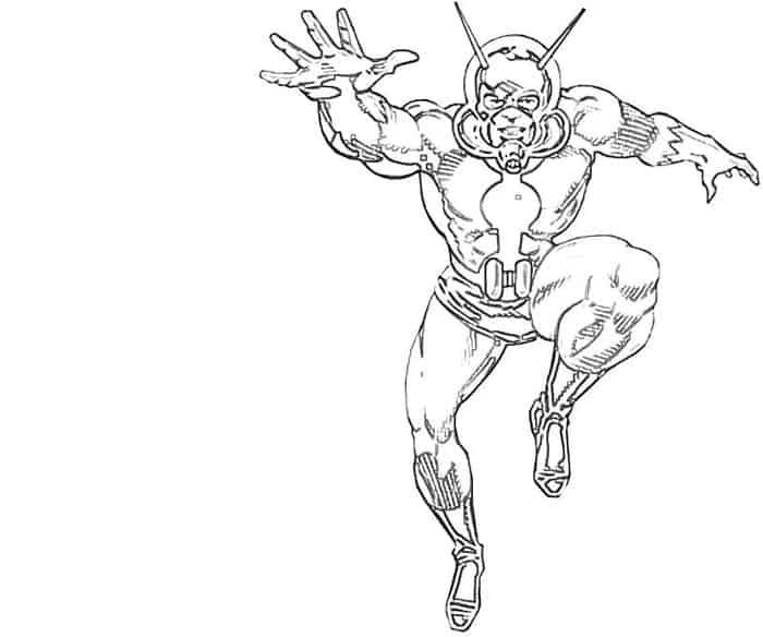 Ant Man Cartoon Coloring Pages Cartoon Coloring Pages Marvel Coloring Coloring Pages