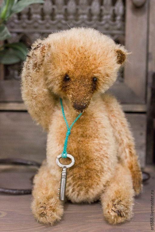 Купить Мишка тедди Пончик - бежевый, медведь тедди, мишка тедди, медведь