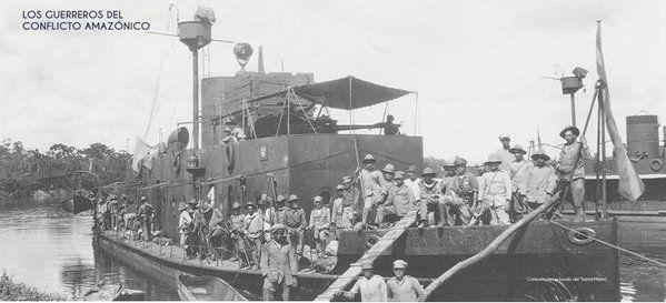 Combatientes del conflicto amazónico a bordo del Santa Marta   Buques históricos de la ARC. - Página 5 - América Militar