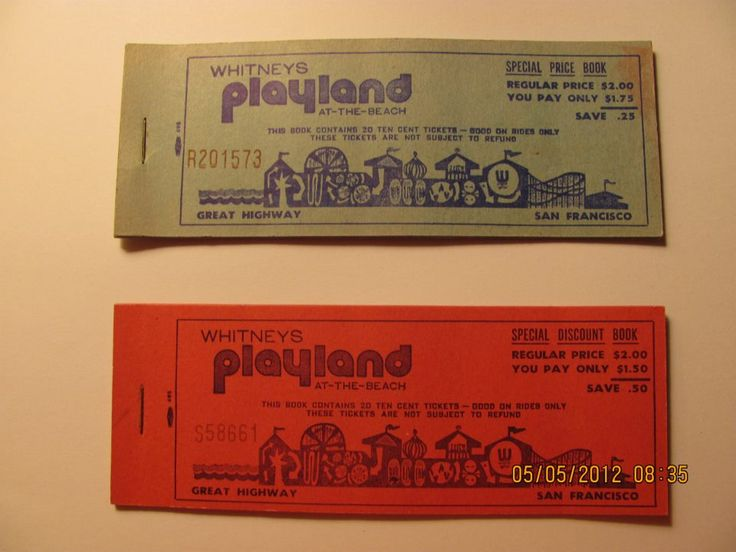 Playland discount books