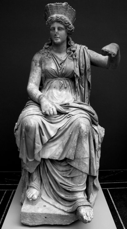 KYBELE (or Cybele) was the great Phrygian Mother of the Gods, a primal nature goddess worshipped with orgiastic rites in the mountains of central and western Anatolia. The Greeks closely identified her with their own mother of the gods, the goddess Rhea.