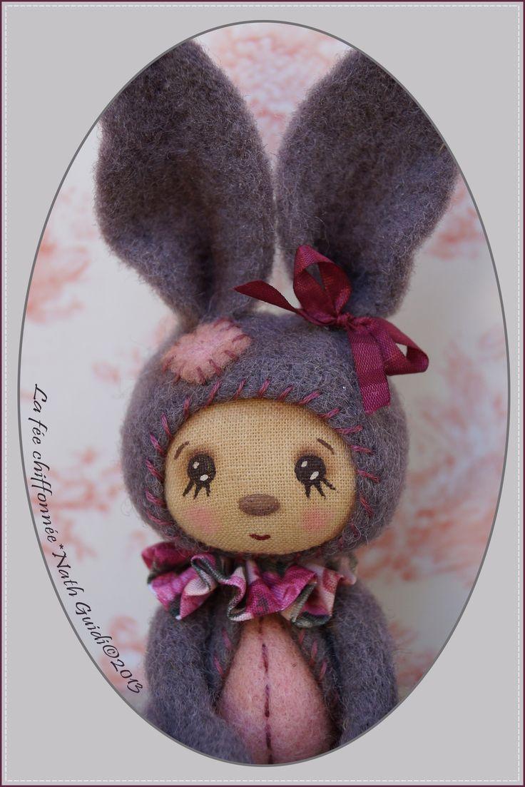 Rabbit ♥ By Nath Guidi * la fée chiffonnée ©