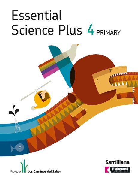 """Diseño e ilustración de portadas para la colección """"Essential Science Plus"""""""