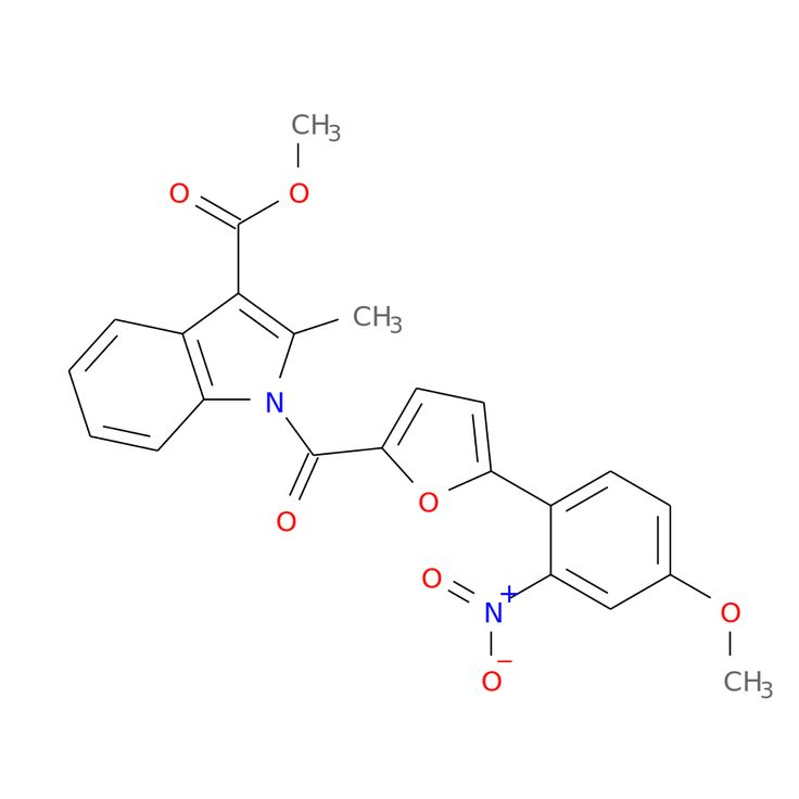 1-[5-(4-METHOXY-2-NITRO-PHENYL)-FURAN-2-CARBONYL]-2-METHYL-1H-INDOLE-3-CARBOXYLIC ACID METHYL ESTER is now  available at ACC Corporation