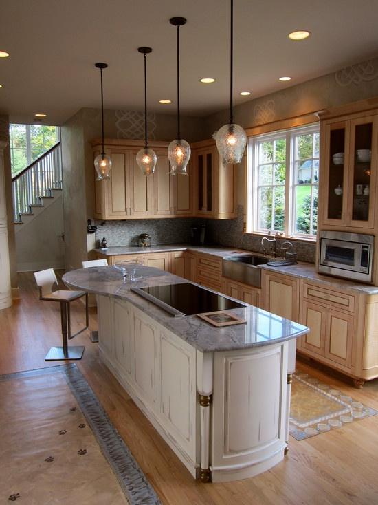 15 Best Kitchen Peninsulas Images On Pinterest Kitchen Ideas Kitchen Peninsula And Kitchen