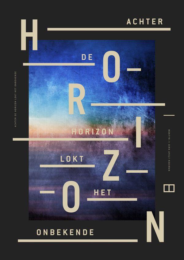 Achter de horizon by Milan van de Goor, via Behance