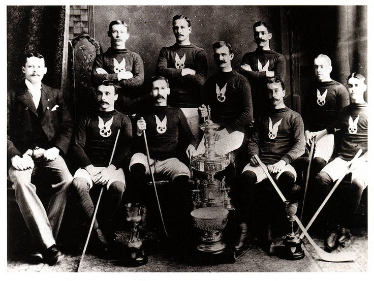 1st winners of Lord Stanley's Cup