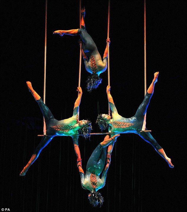 "CALIFORNIA... Cirque du Soleil ""Luzia"" employee dies in San Francisco | Daily Mail Online"