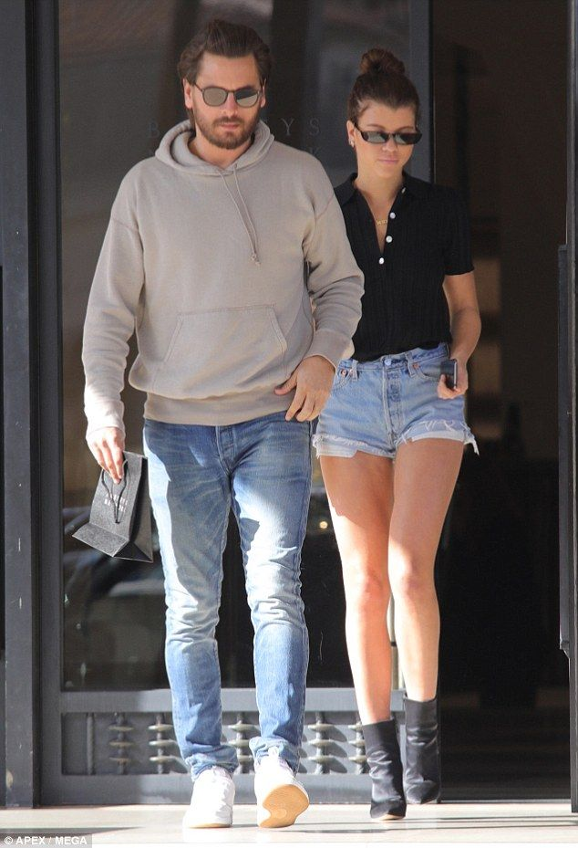 Look who's back: On Thursday, 19-year-old Sofia Richie and her 34-year-old beau Scott Disick appeared to be reunited when they were spotted together entering a hotel in Beverly Hills