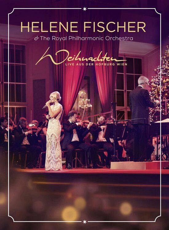 "Dvd Helene Fischer Weihnachten Live Aus Der Hofburg Wien. ""You sound like an angel"" ...said Placido Domingo.  ..and It´s is so very true :)"