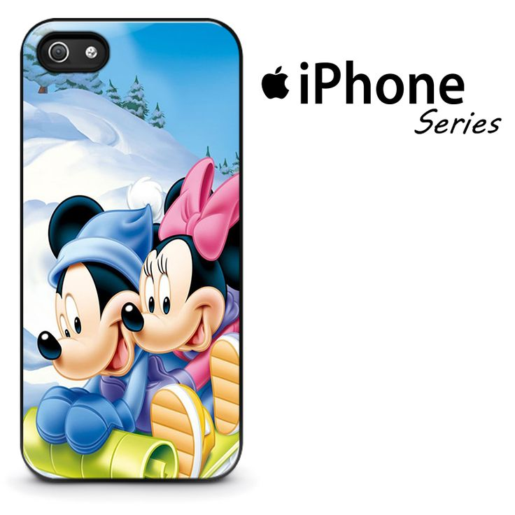 Mickey & Minnie Mouse in Snow Phone Case | Apple iPhone 4/4s 5/5s 5c 6/6s 6/6s Plus Samsung Galaxy S3 S4 S5 S6 S6 Edge S7 S7 Edge Samsung Galaxy Note 3 4 5 Hard Case  #AppleiPhoneCase #SamsungGalaxyCase #SamsungGalaxyNoteCase #MickeyMousePhoneCase #Yuicase.com