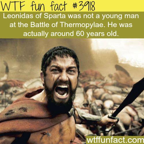 Leonidas of Sparta - WTF fun facts