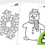 WINTER Coloring Pages  from: krokotak.com