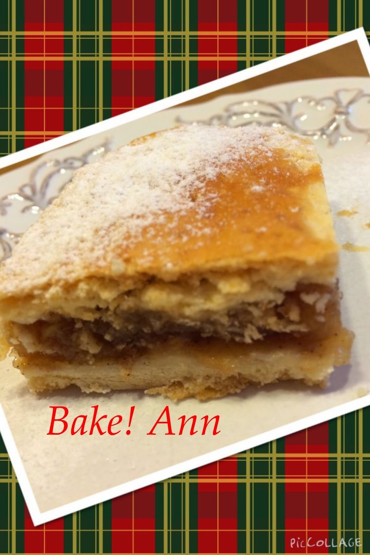 bake! Ann: Almás pite