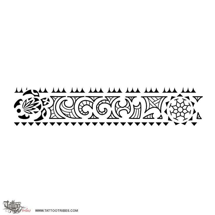 Très 29 best Maori Armband Tattoo Stencils images on Pinterest | Tattoo  LJ42