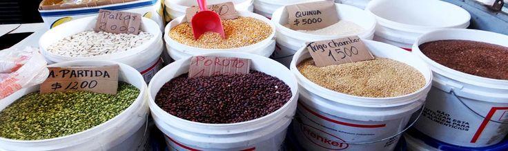 muchos colores y sabores en la vega de santiago de chile, el mercado mas vivo del mundo