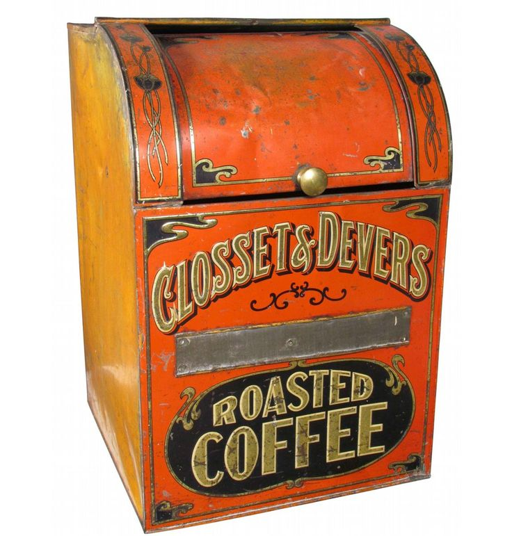 Closet & Devers Roasted Coffee Store Bin