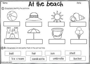 48 best Beach themed worksheets images on Pinterest | School ...