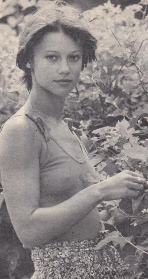 Görbe Nóra színésznő (22)Hungarian actress Nóra GörbeFilm Színház Muzsika, 1979. július 14.forrás: sztar.com