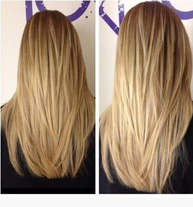 The Fabulous Long Straight Hairstyles with Layers - maybe not quite as many, but this is beautiful